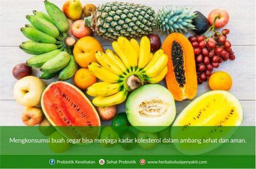 Tips Menurunkan Kolesterol Secara Alami Dengan Pilihan Buah dan Sayur Segar yang sehat dan rendah kolesterol